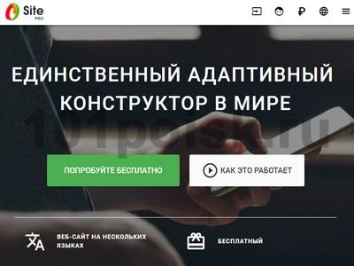 Конструктор сайтов Site Pro отзывы
