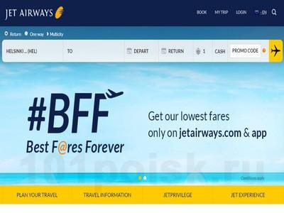 Jet Airways отзывы