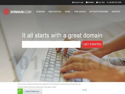 Domain.com отзывы, обзор, аналоги